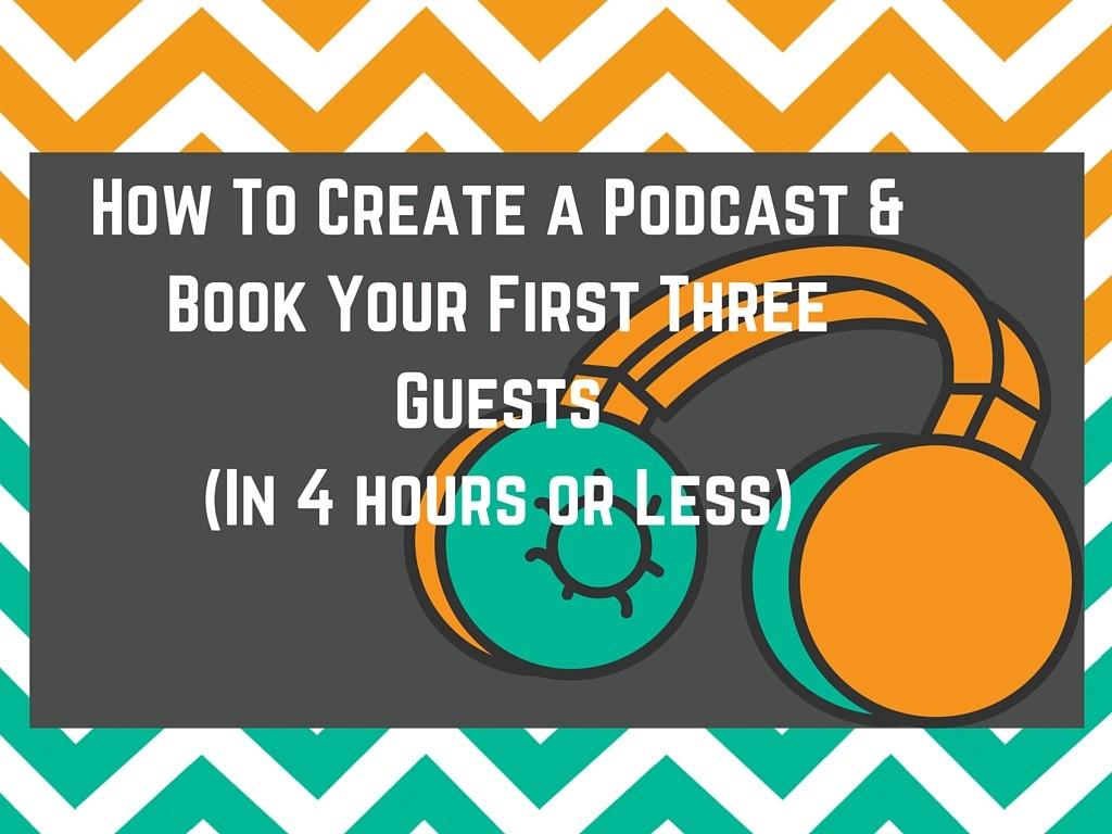 create a podcast image
